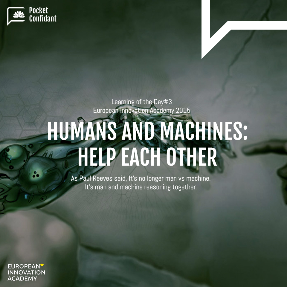 Humans and Machines - help each other