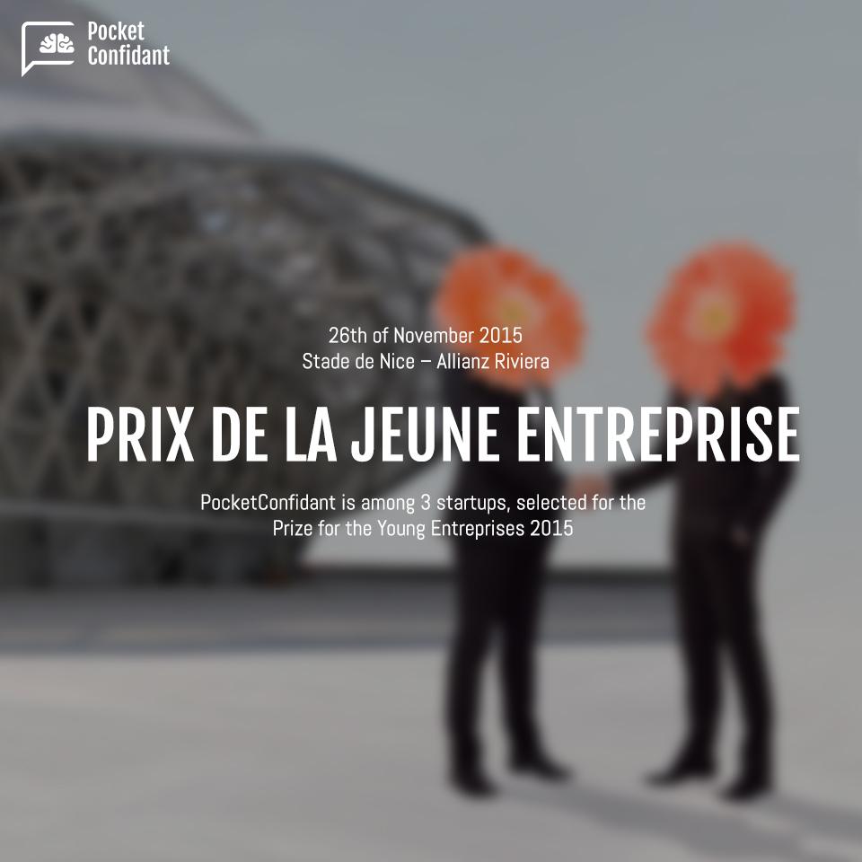 Prix de La Jeune Entreprise 2015