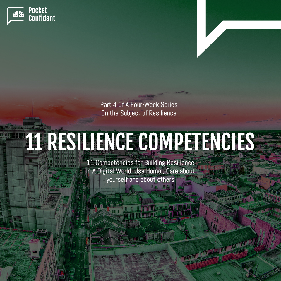 11 Competencies for Building Resilience In A Digital World - Part 3: Build Confidence, Seek Meanings and See The Big Picture