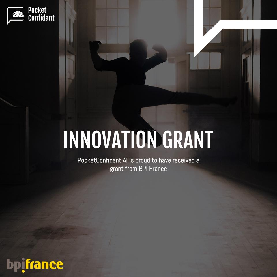 PocketConfidant AI Supported By BPI Franceu0027s Innovation Grants 2017