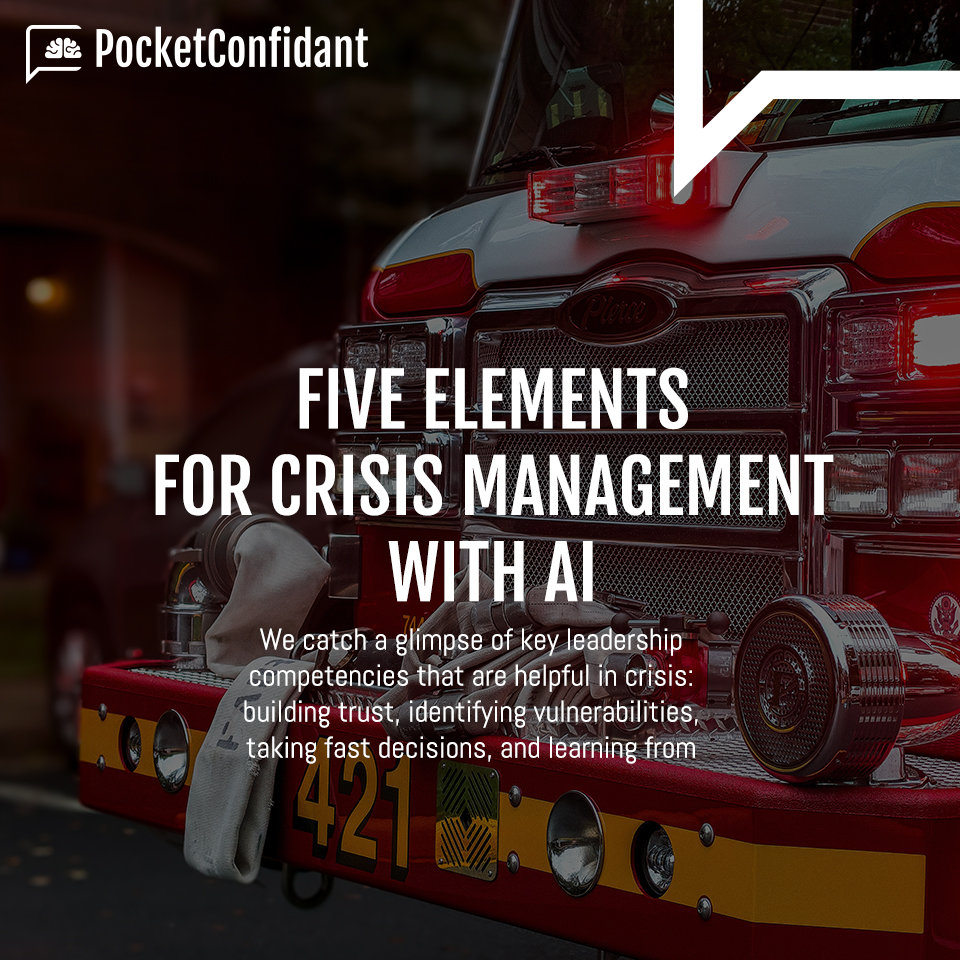 Five elements for crisis management with AI